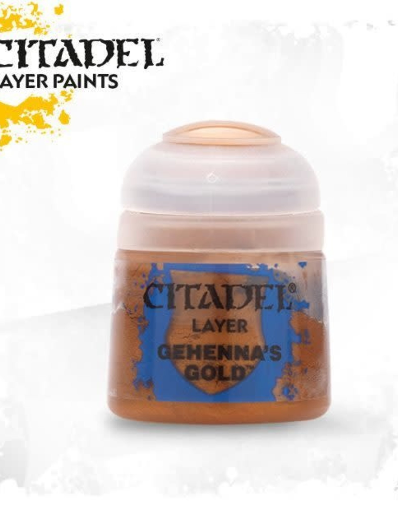 Games Workshop Citadel Paint: Layer - Gehennas Gold