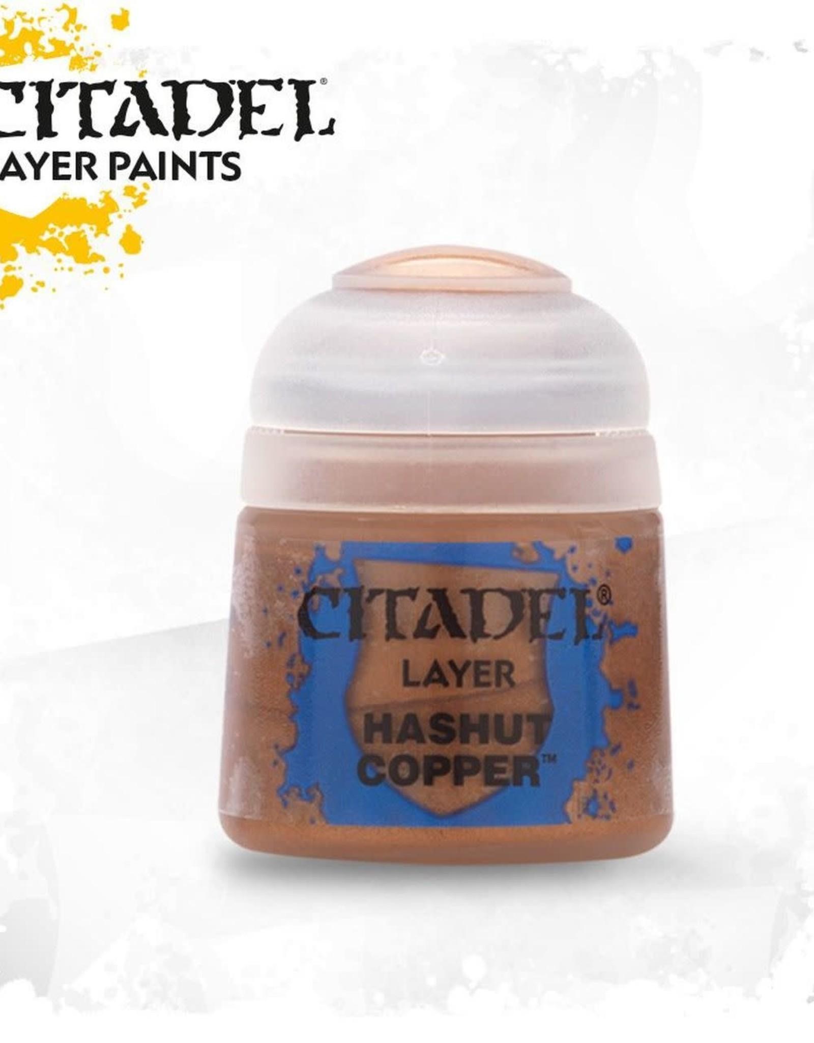 Games Workshop Citadel Paint: Layer - Hashut Copper