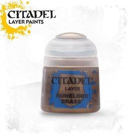 Games Workshop Citadel Paint: Layer - Runelord Brass