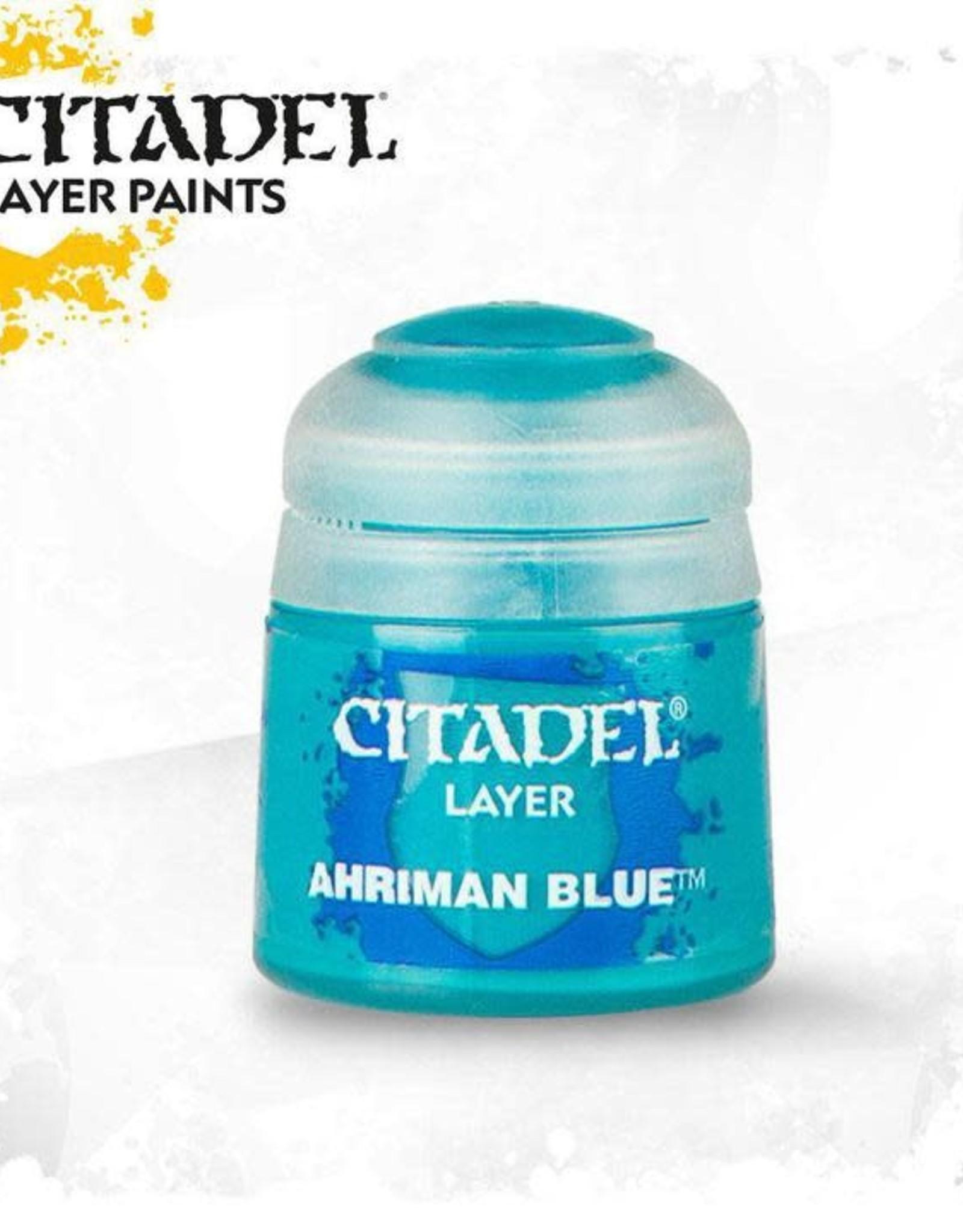 Games Workshop Citadel Paint: Layer - Ahriman Blue 12ml