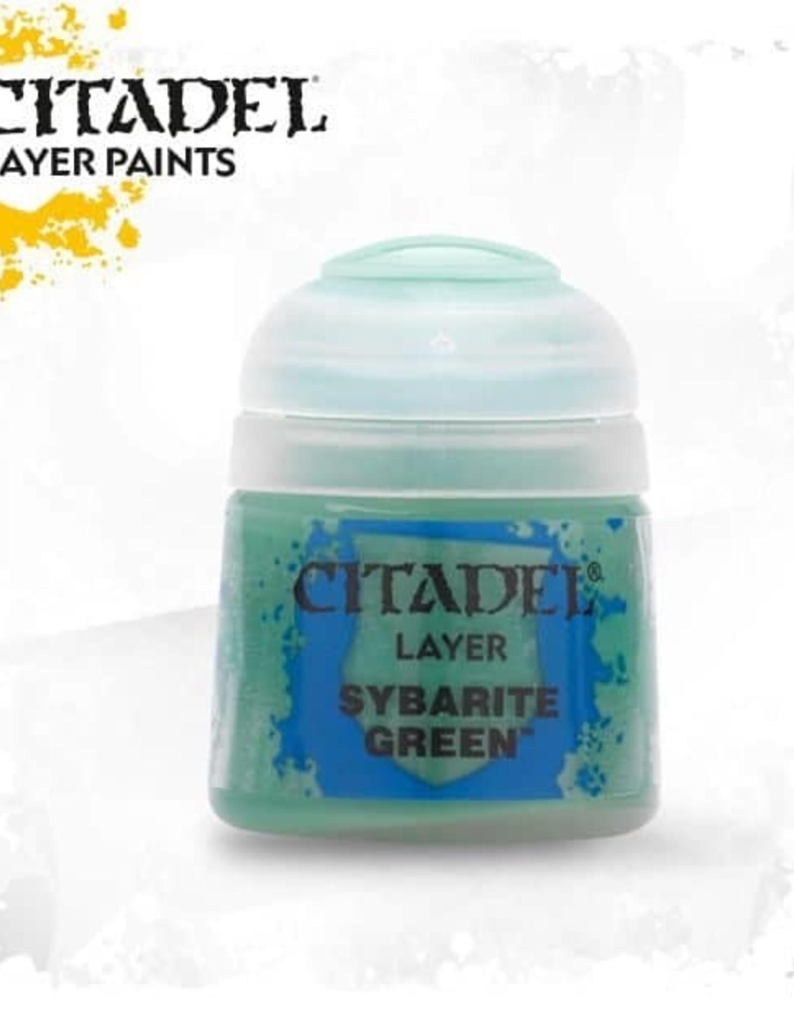 Games Workshop Citadel Paint: Layer - Sybarite Green