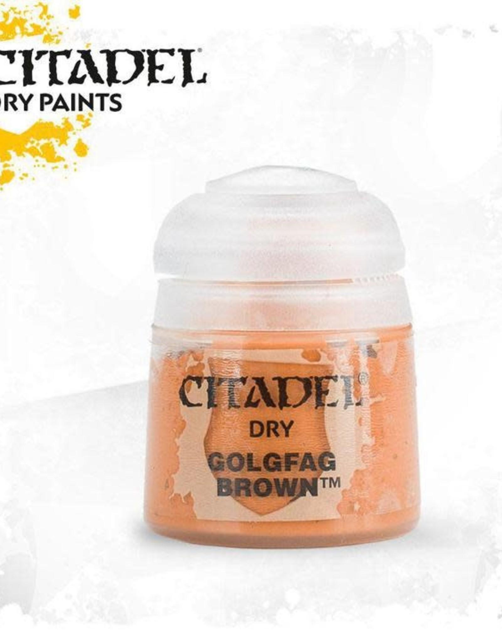Games Workshop Citadel Paint: Dry - Golgfag Brown