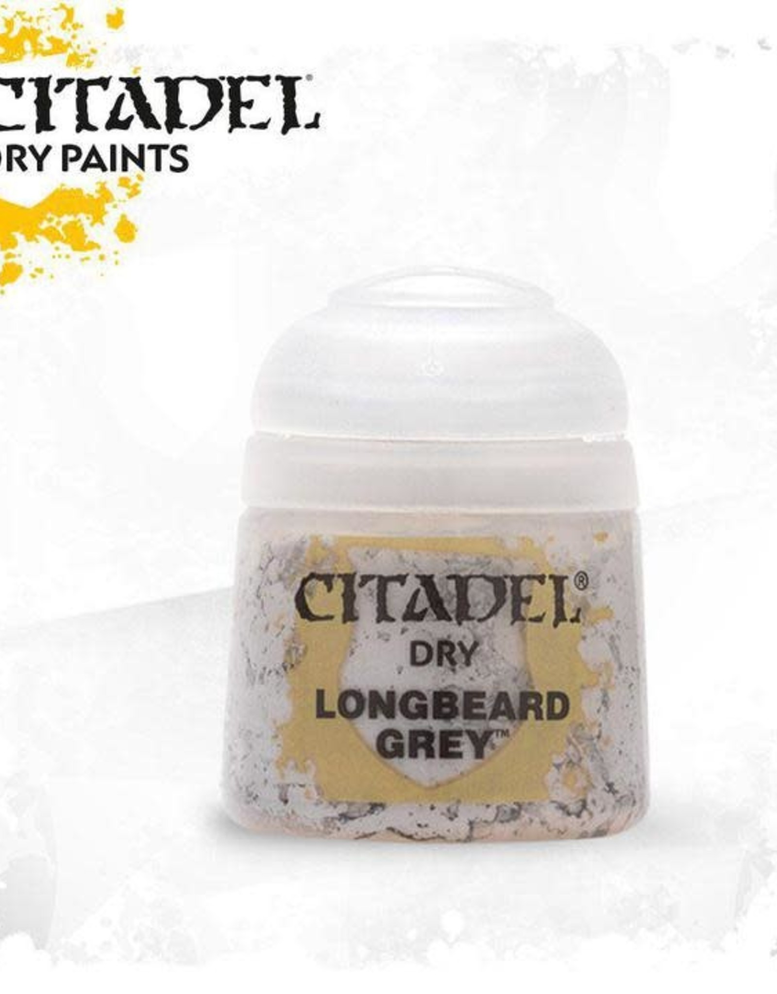 Games Workshop Citadel Paint: Dry - Longbeard Grey