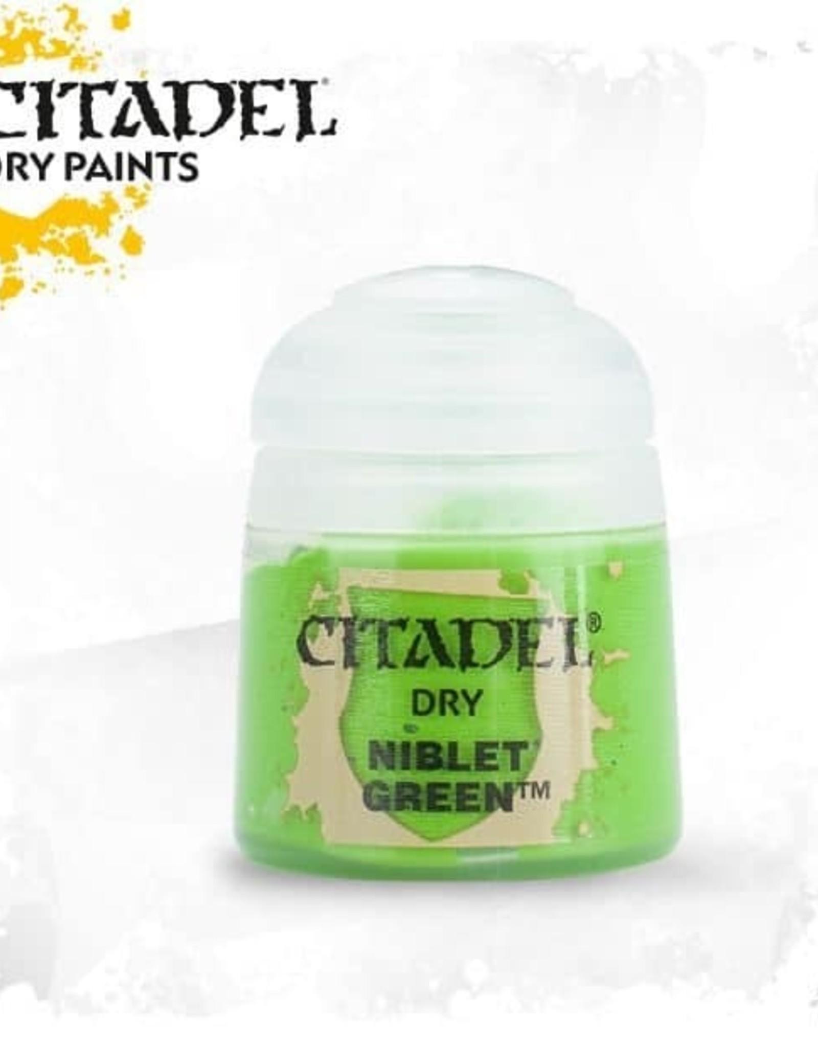 Games Workshop Citadel Paint: Dry - Niblet Green