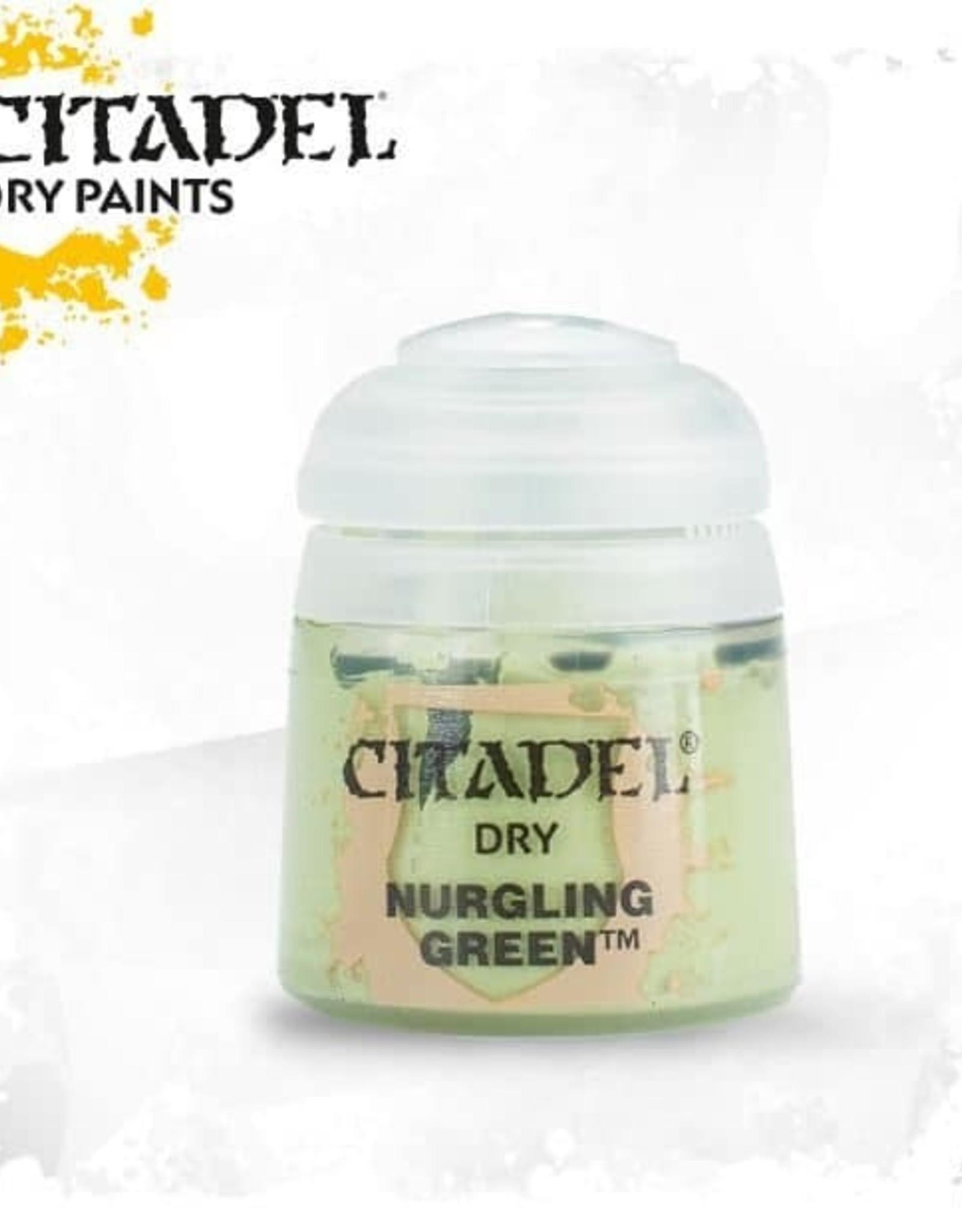 Games Workshop Citadel Paint: Dry - Nurgling Green