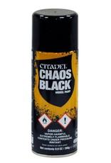 Games Workshop Citadel Spray: Primer Chaos Black