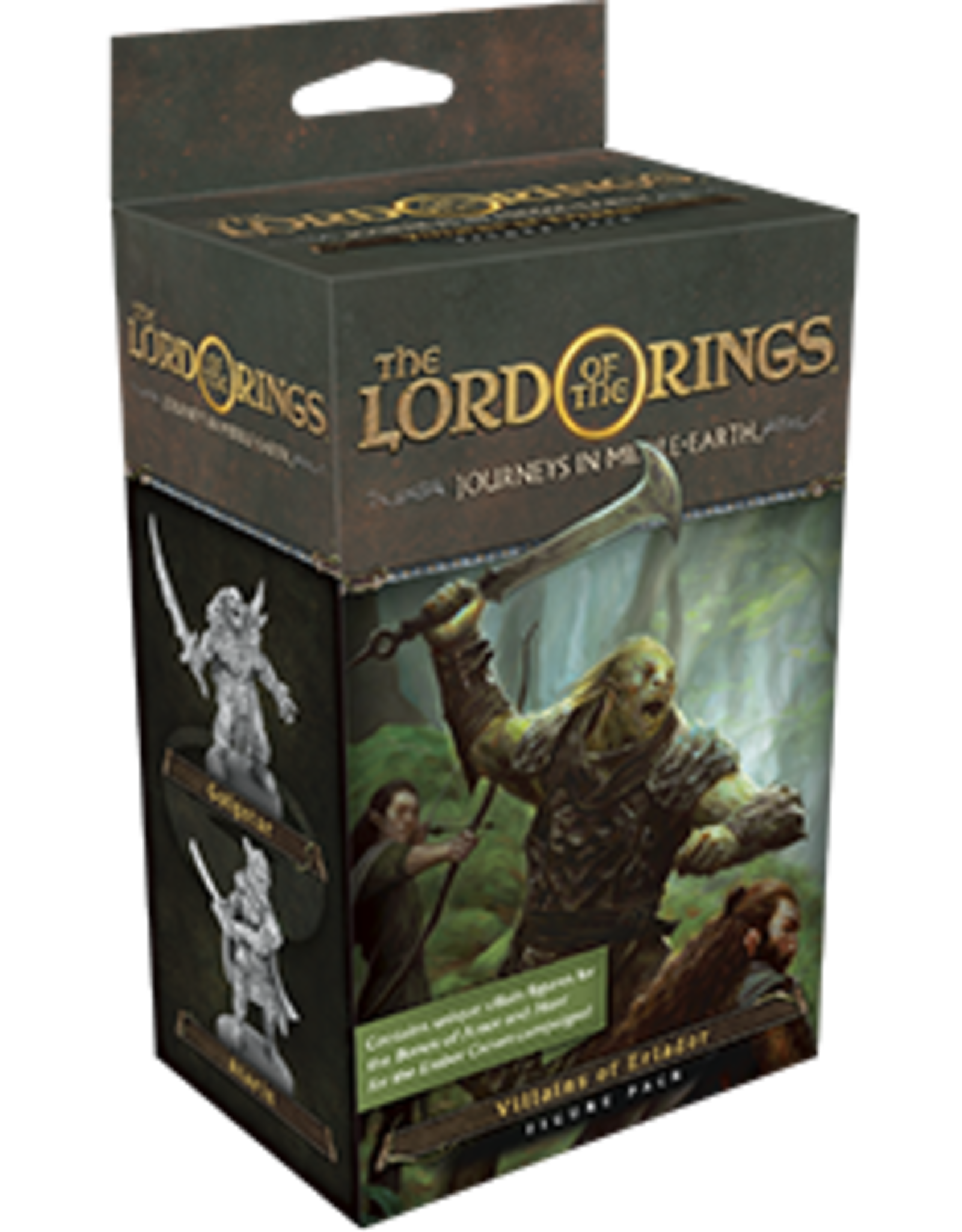 FFG The Lord of the Rings: Journeys in Middle-earth - Villains of Eriador Figure Pack