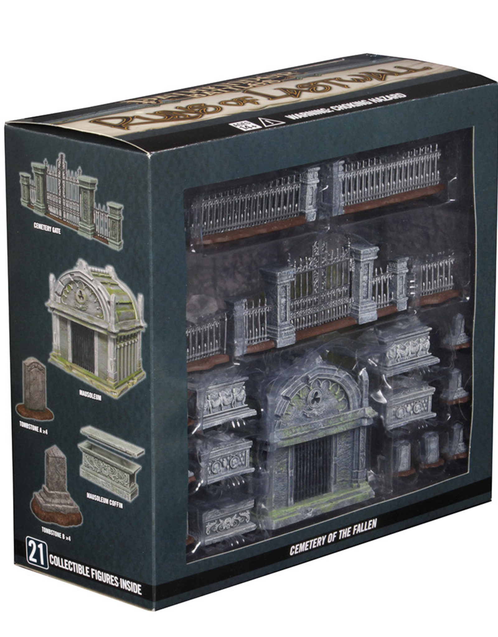 Wizkids Pathfinder Battles: Ruins of Lastwall Cemetery of the Fallen Premium Set