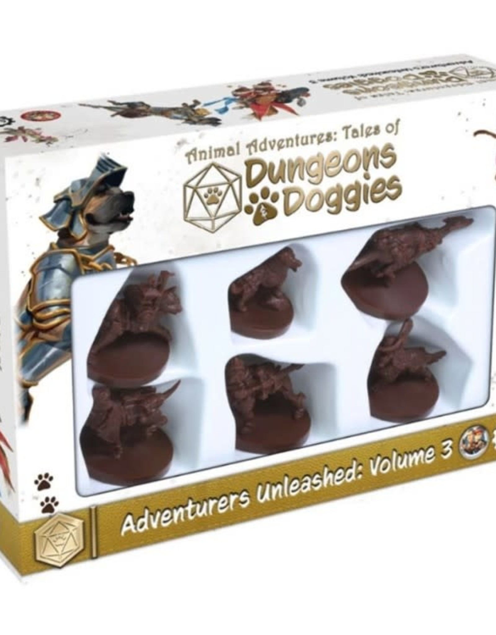 Steamforged Games Dungeons & Doggies (Volume 3)