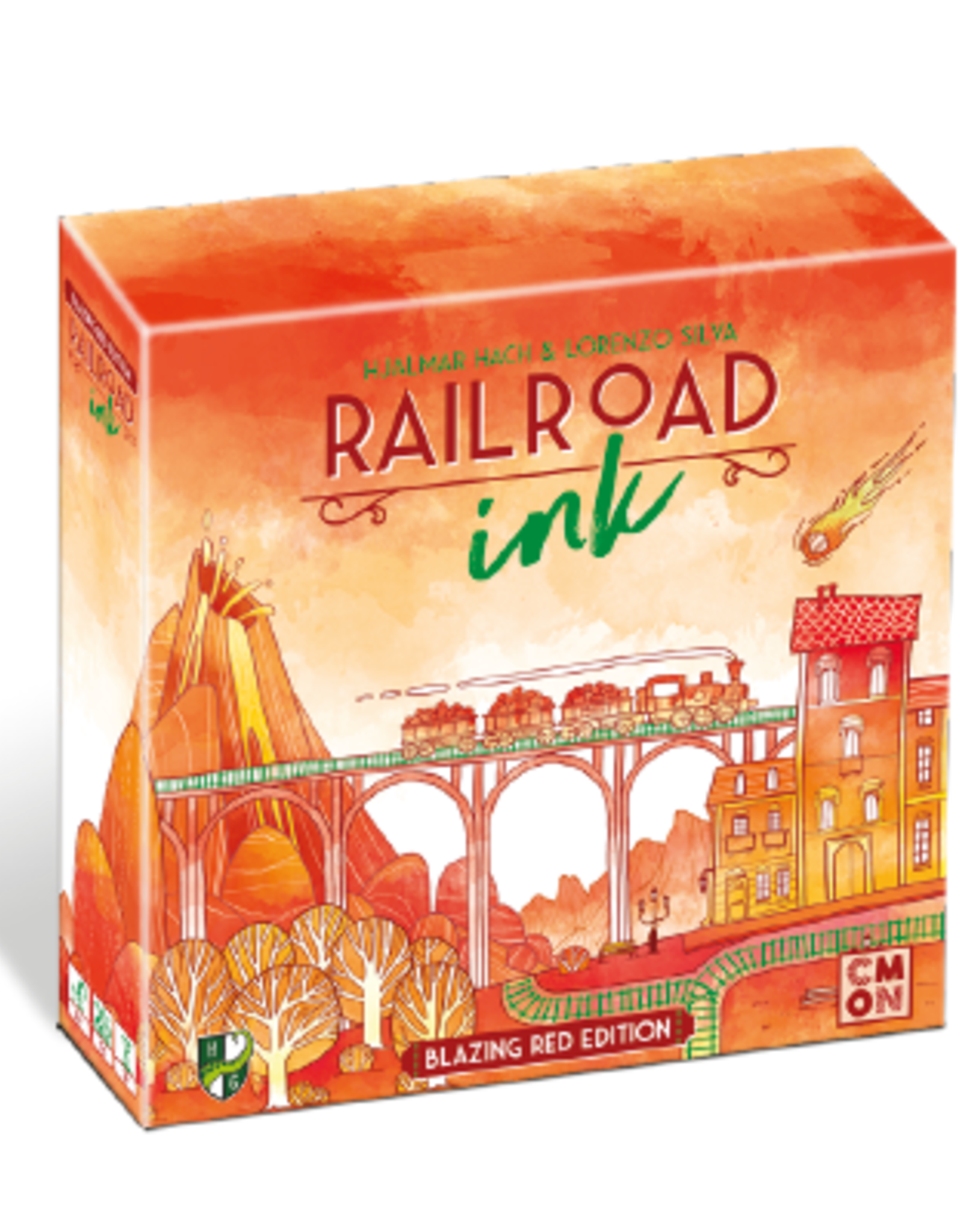 Horrible Guild Railroad Ink - Blazing Red