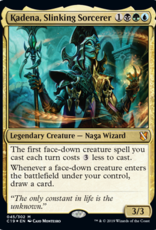 WOTC Commander 2019 - Faceless Menace - Kadena, Slinking Sorcerer (BGU)