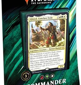 WOTC Commander 2019 - Primal Genesis - Ghired, Conclave Exile (RGW)