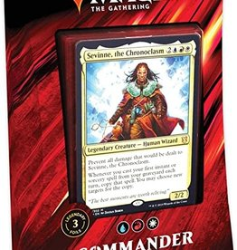 WOTC Commander 2019 - Mystic Intellect - Sevinne, The Chronoclasm (URW)
