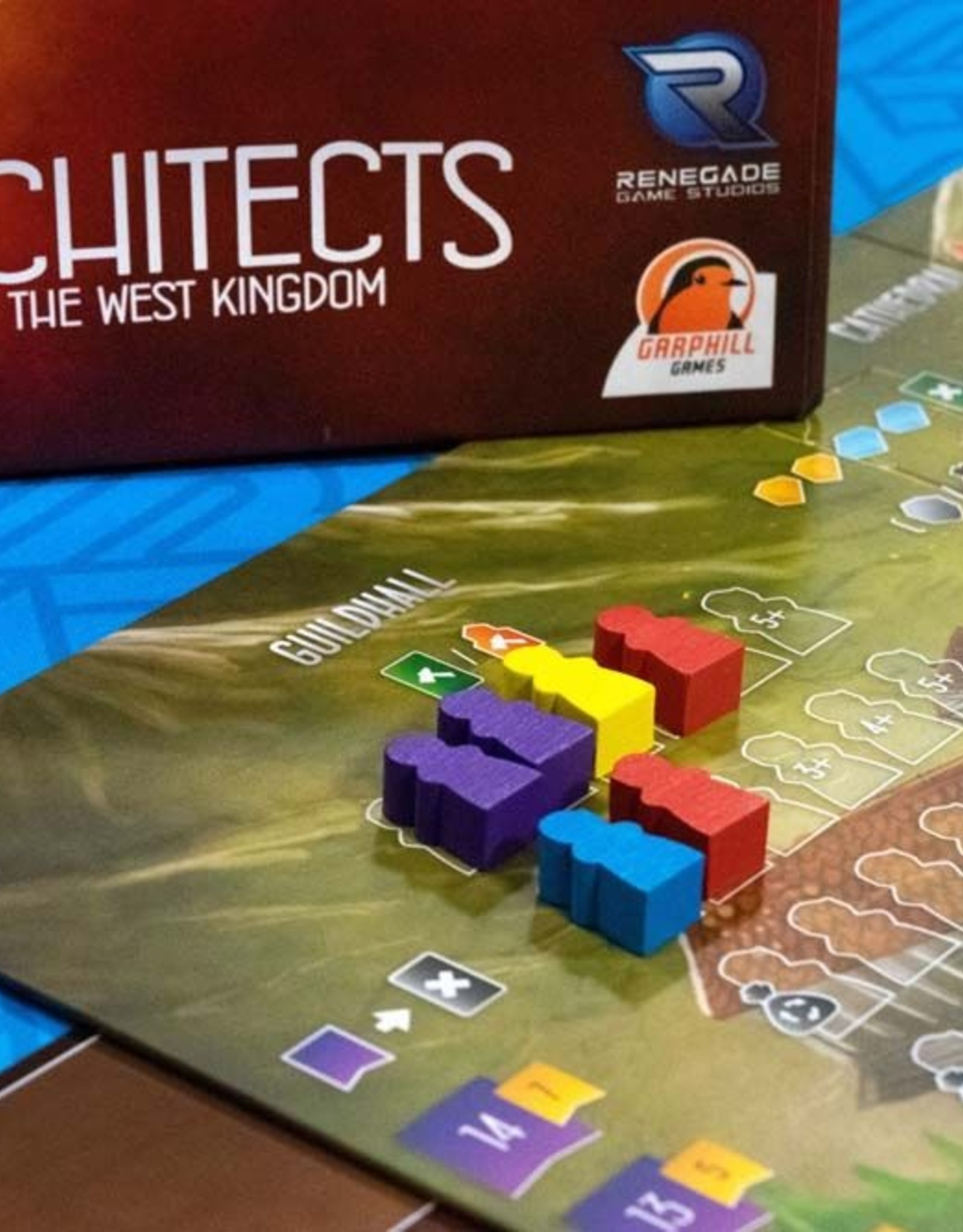 RENEGADE GAMES STUDIOS Architects of the West Kingdom