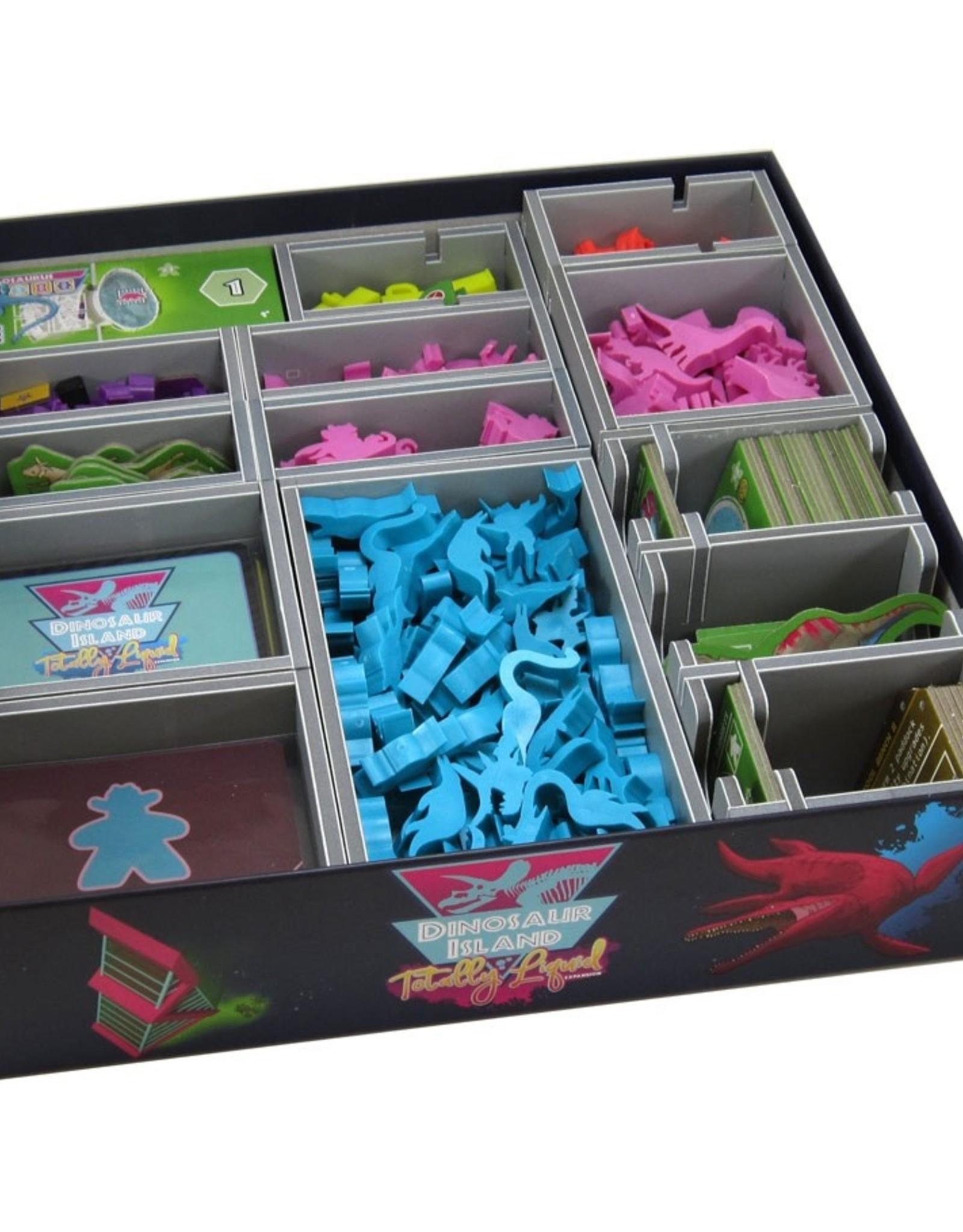 Folded Space Box Insert: Dinosaur Island/Totally Liquid