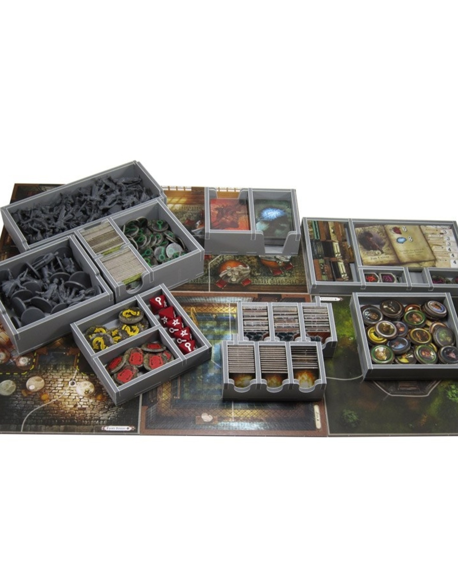 Folded Space Box Insert: Mansions of Madness 2E & Expansions