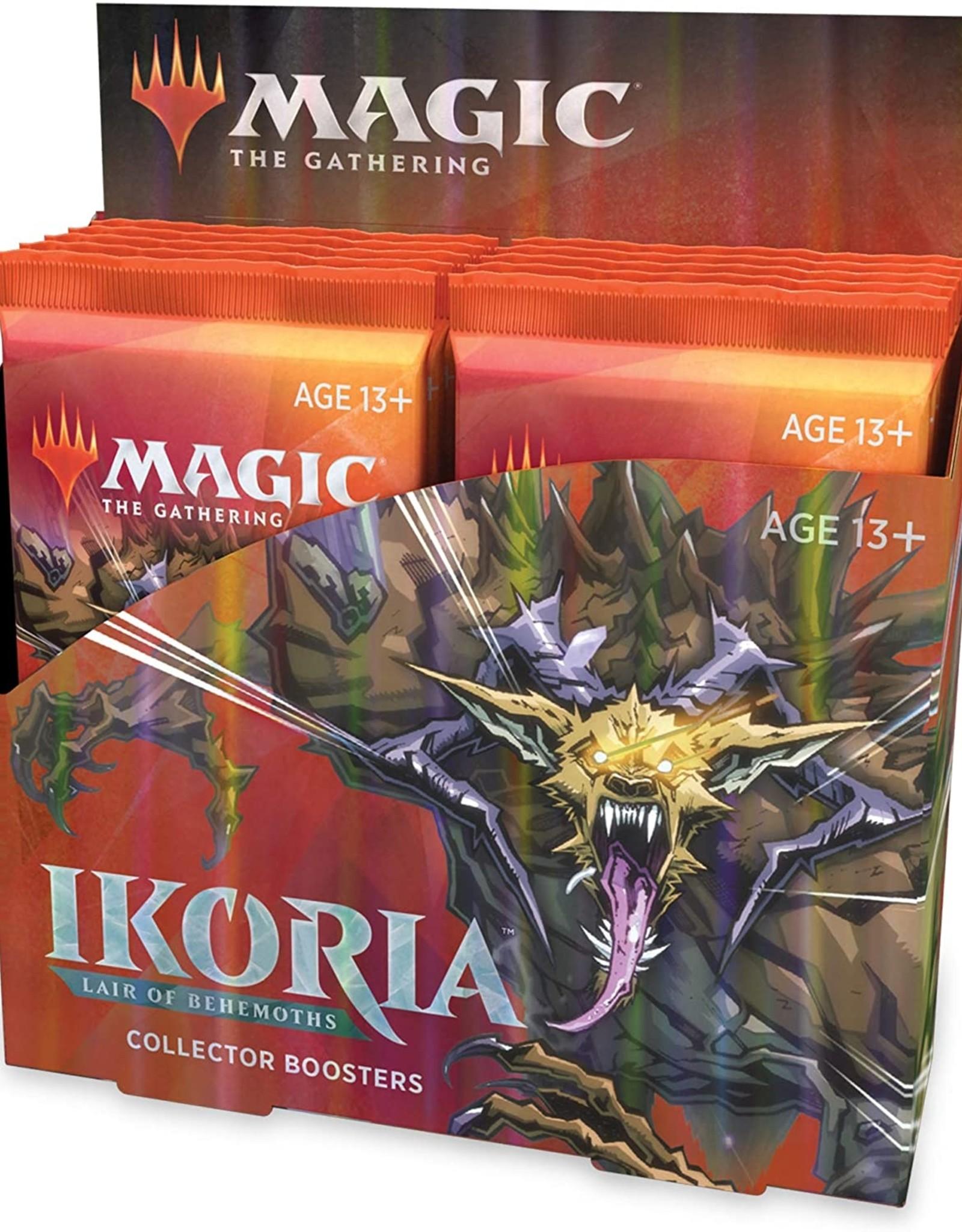 WOTC MTG: Ikoria, Lair of Behemoths Collector Display (12 Packs)