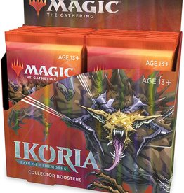 WOTC MTG: Ikoria, Lair of Behemoths Collector Display (12 Packs)