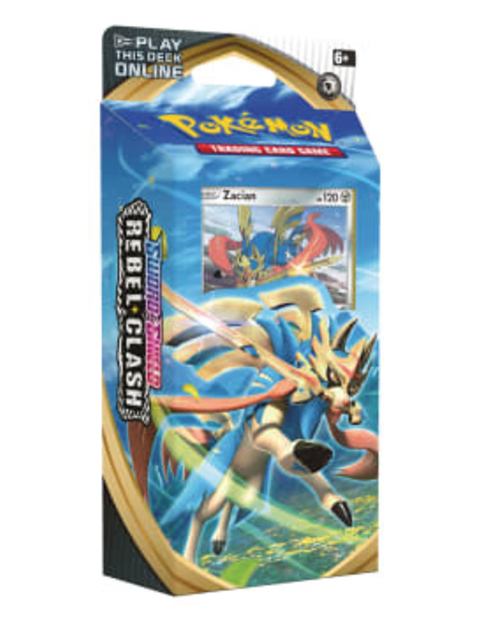 Pokemon Rebel Clash Theme Deck Zacian