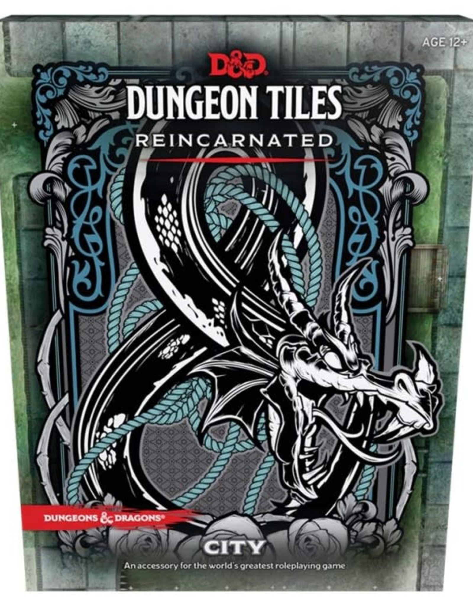 WOTC D&D RPG: Dungeon Tiles Reincarnated - City