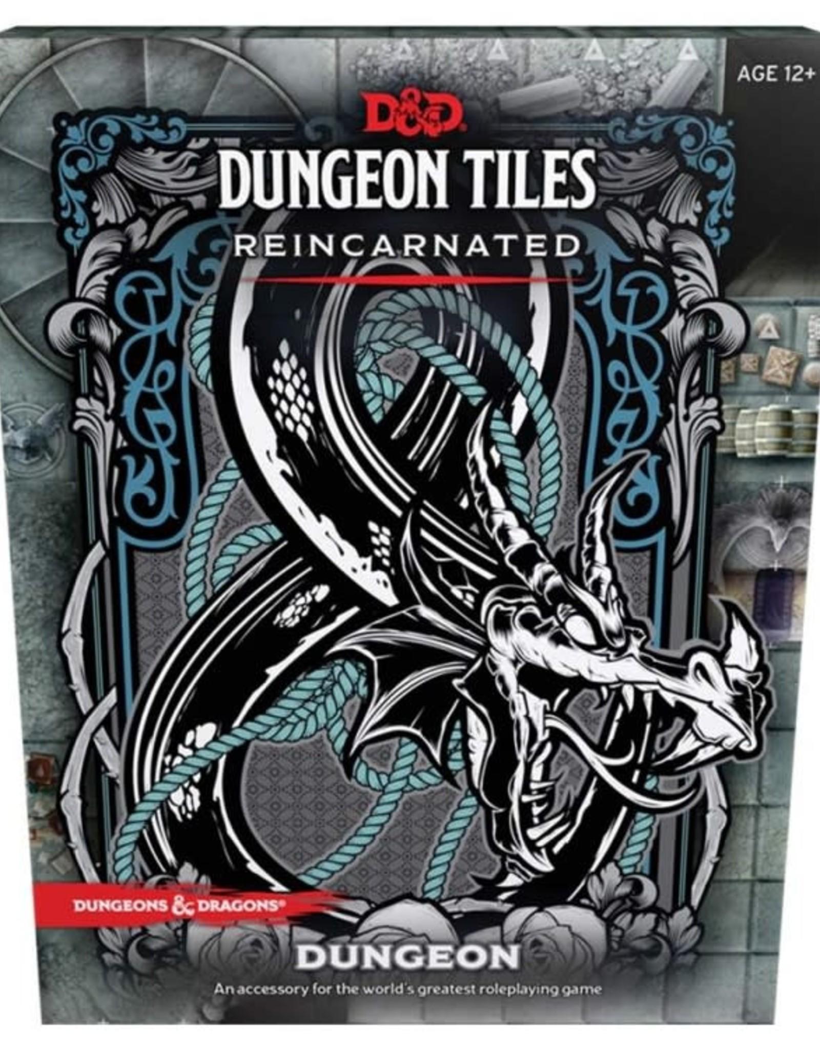 WOTC D&D RPG: Dungeon Tiles Reincarnated - Dungeon