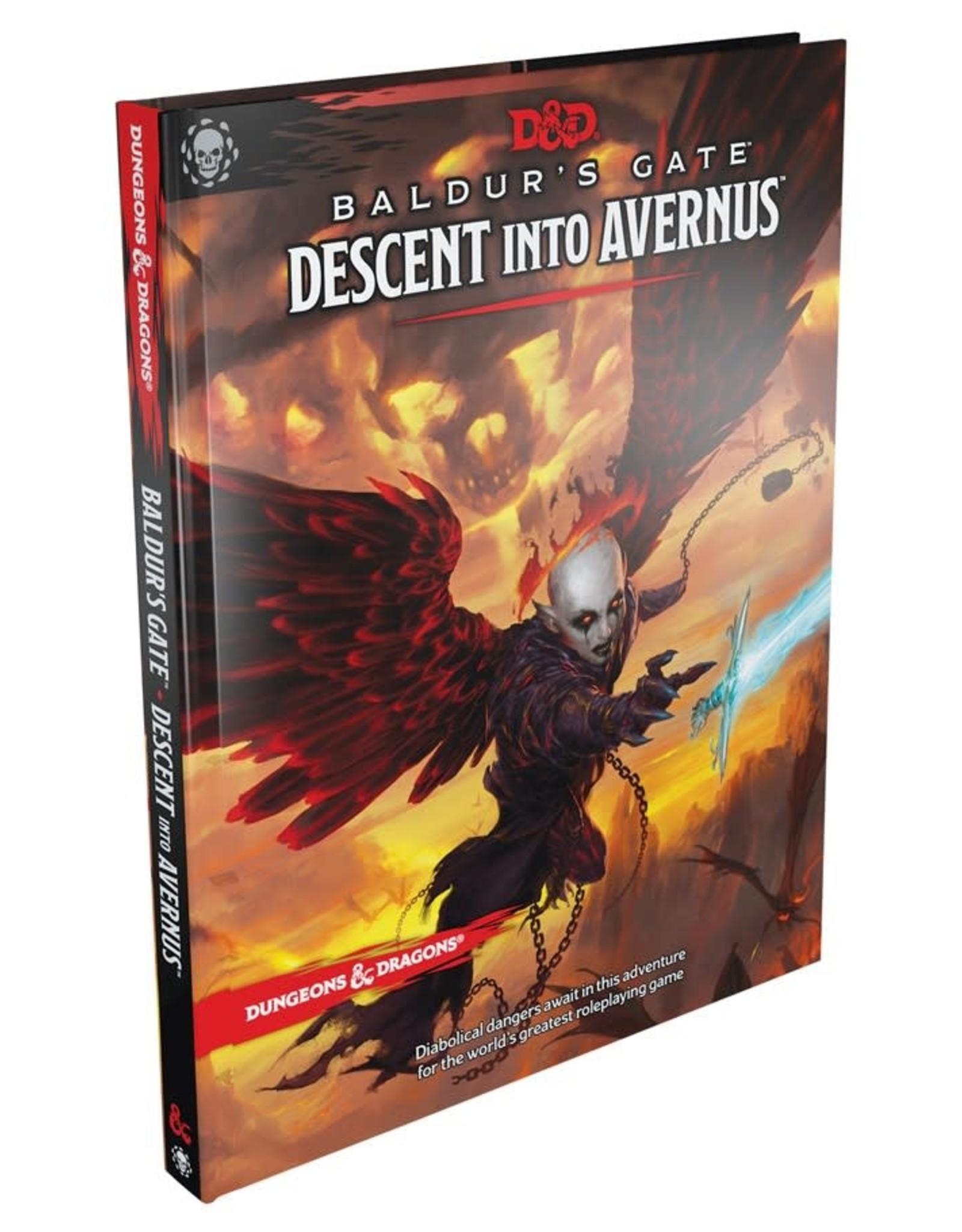 WOTC D&D: Baldur's Gate Descent Into Avernus Book