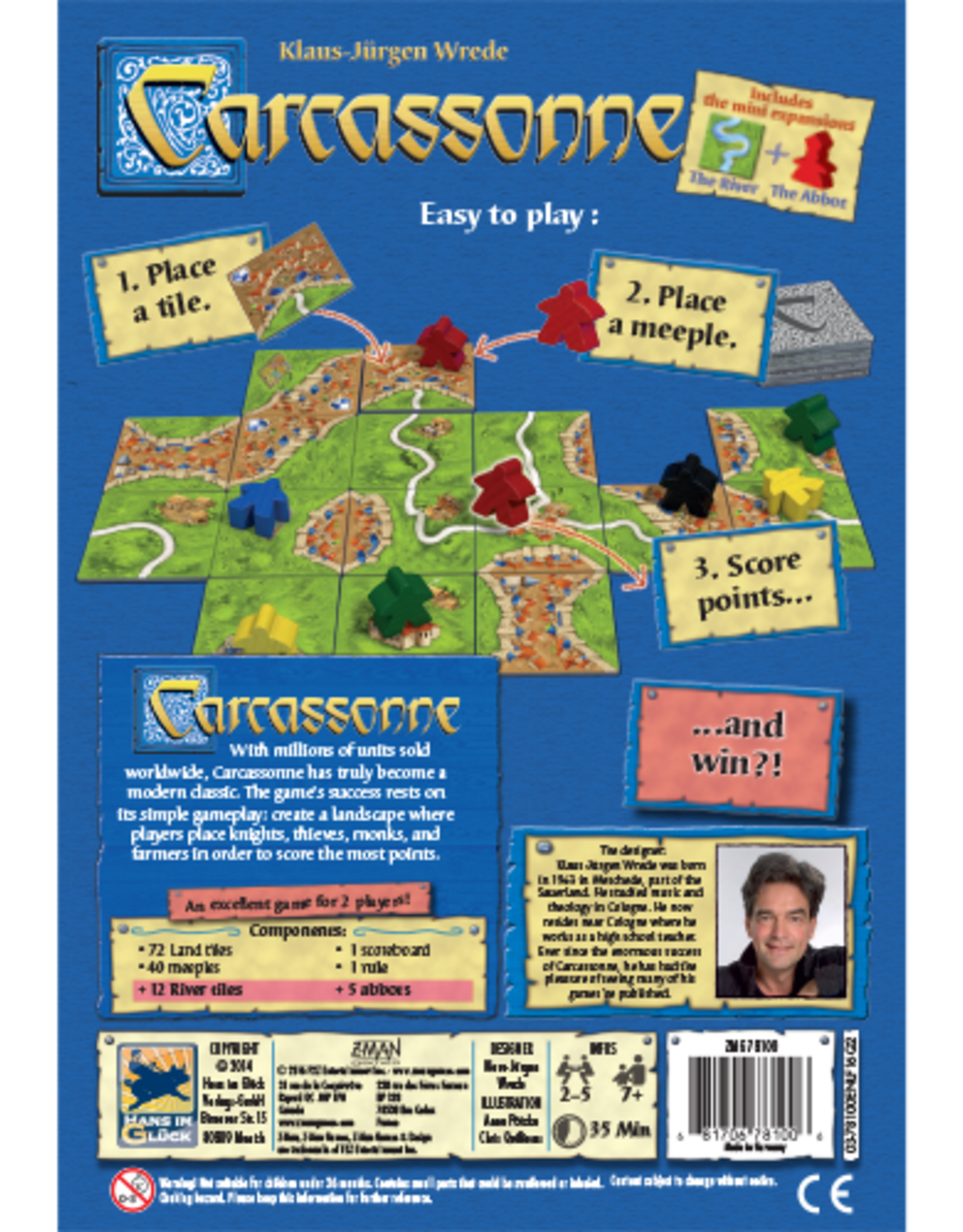 Z-Man Games Carcassonne New Edition