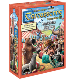 Z-Man Games Carcassonne: Under The Big Top