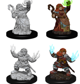 Wizkids D&D Mini: NM Primed: Female Dwarf Summoner