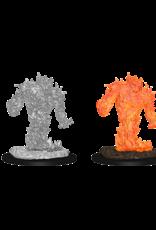 Wizkids D&D Mini: NM Primed: Fire Elemental