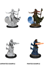 Wizkids D&D NM Primed Mini: Female Human Wizard