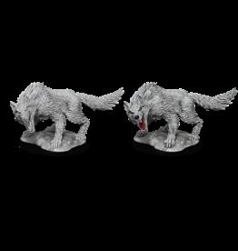 Wizkids D&D NM Primed Mini: Winter Wolf