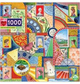 Eeboo 1000 Piece UFO Victorian Ladies Puzzles