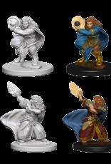 Wizkids D&D Mini: NM Primed: Female Dwarf Wizard