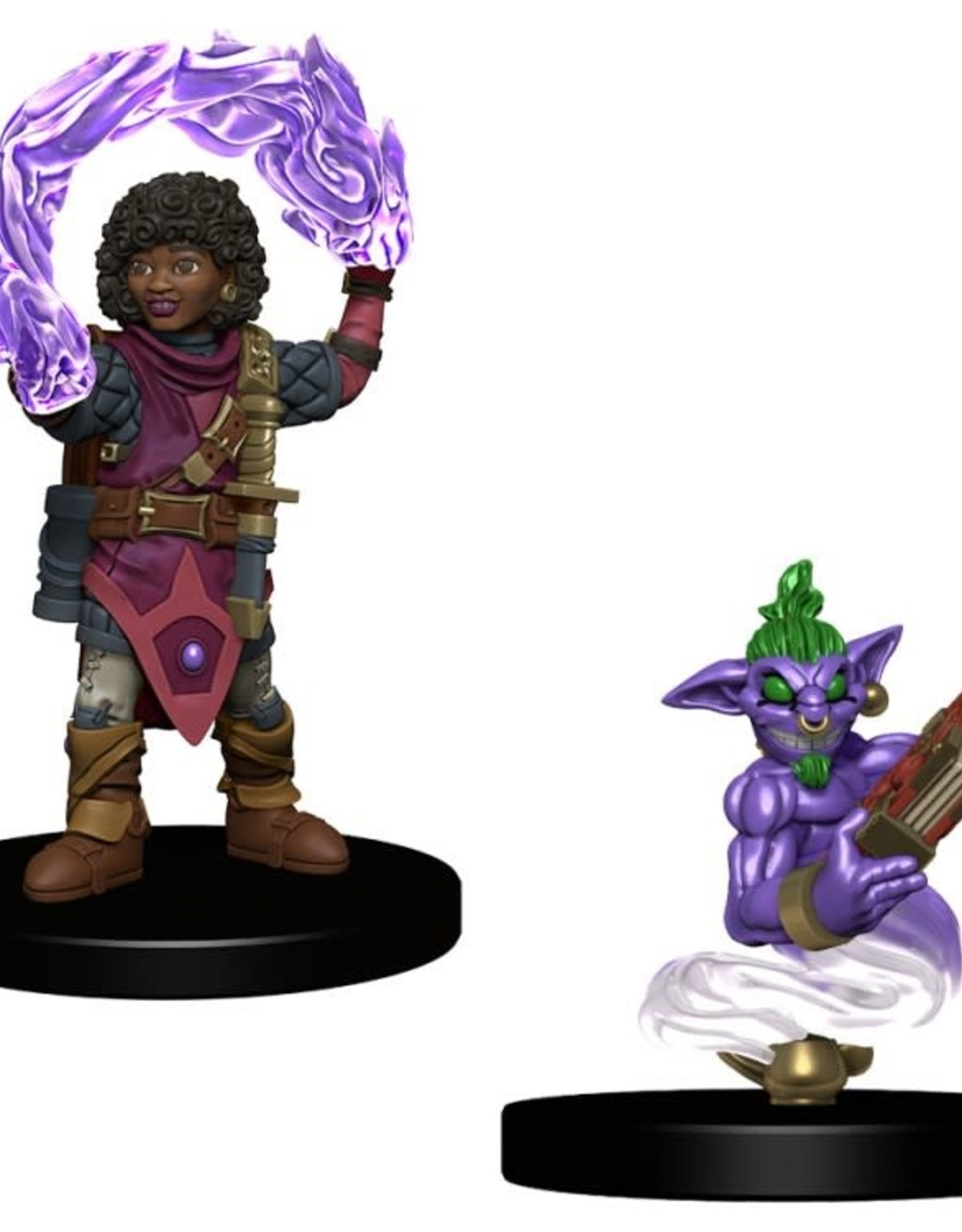Wizkids Wardlings Painted: Girl Wizard with Genie