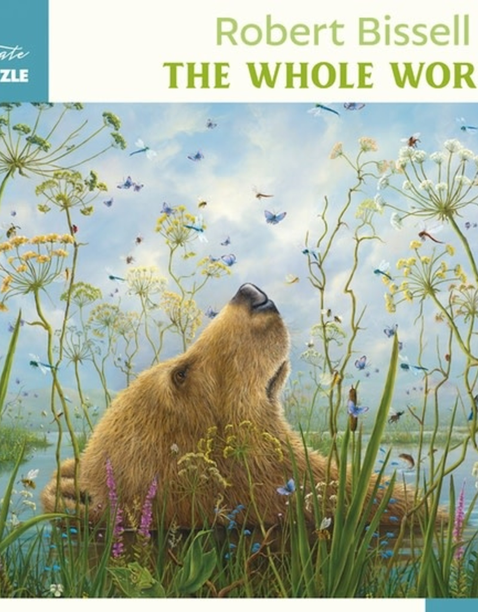 Pomegranate 1000 pc Robert Bissell: The Whole World