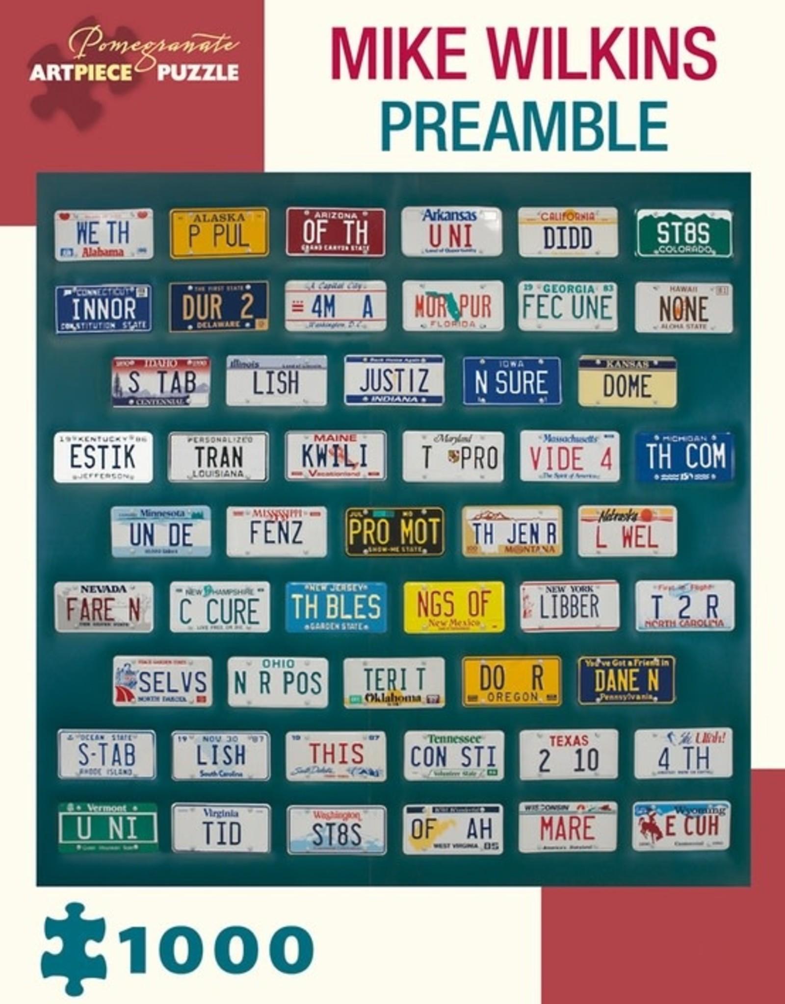 Pomegranate 1000 pc Mike Wilkins: Preamble