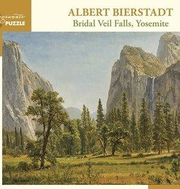 Pomegranate 1000 pc Albert Bierstadt: Bridal Veil Falls, Yosemite Puzzle