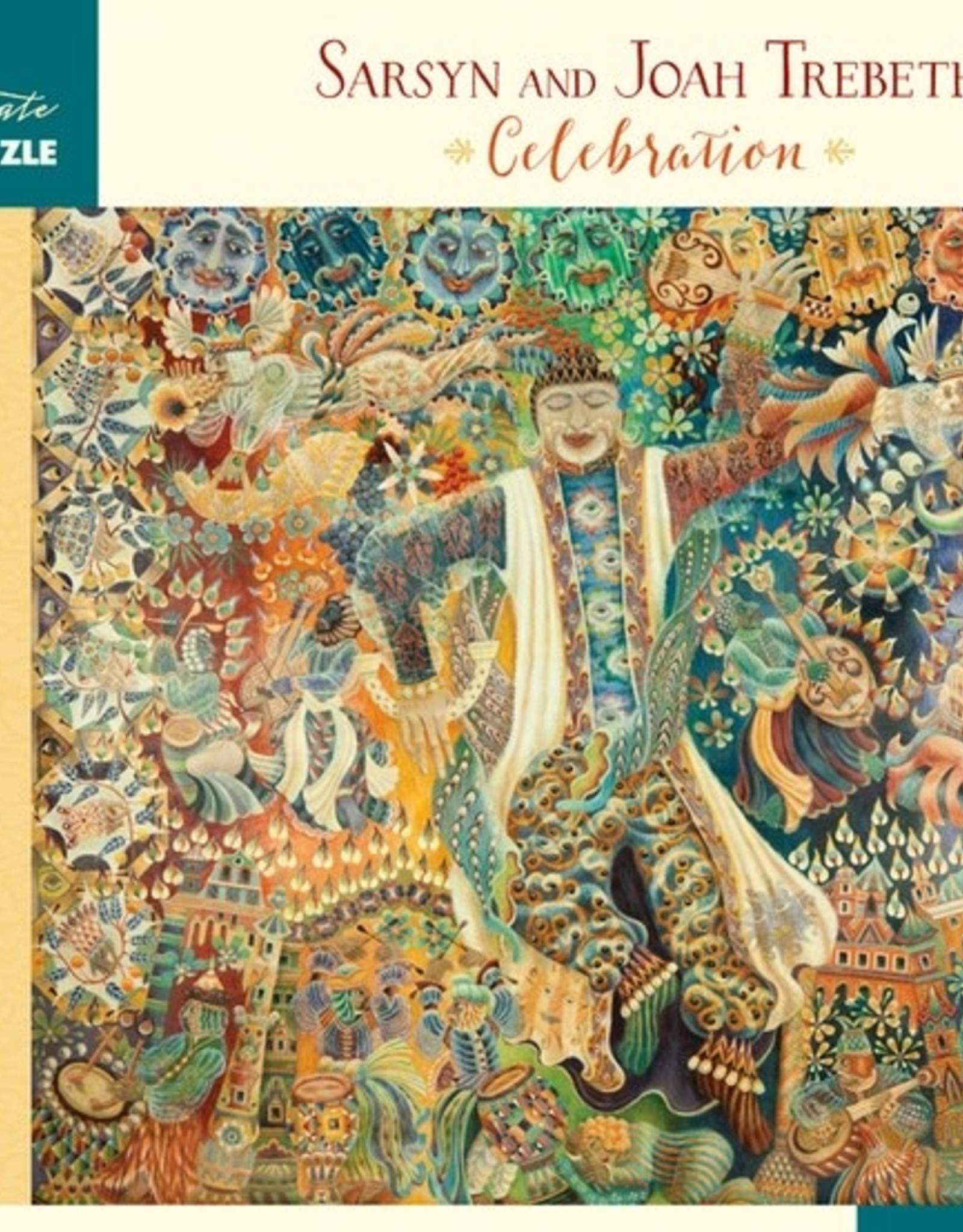 Pomegranate 1000 pc Sarsyn and Joah Trebeth: Celebration Puzzle