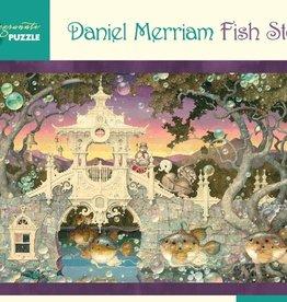 Pomegranate 1000 pc Daniel Merriam: Fish Story Puzzle
