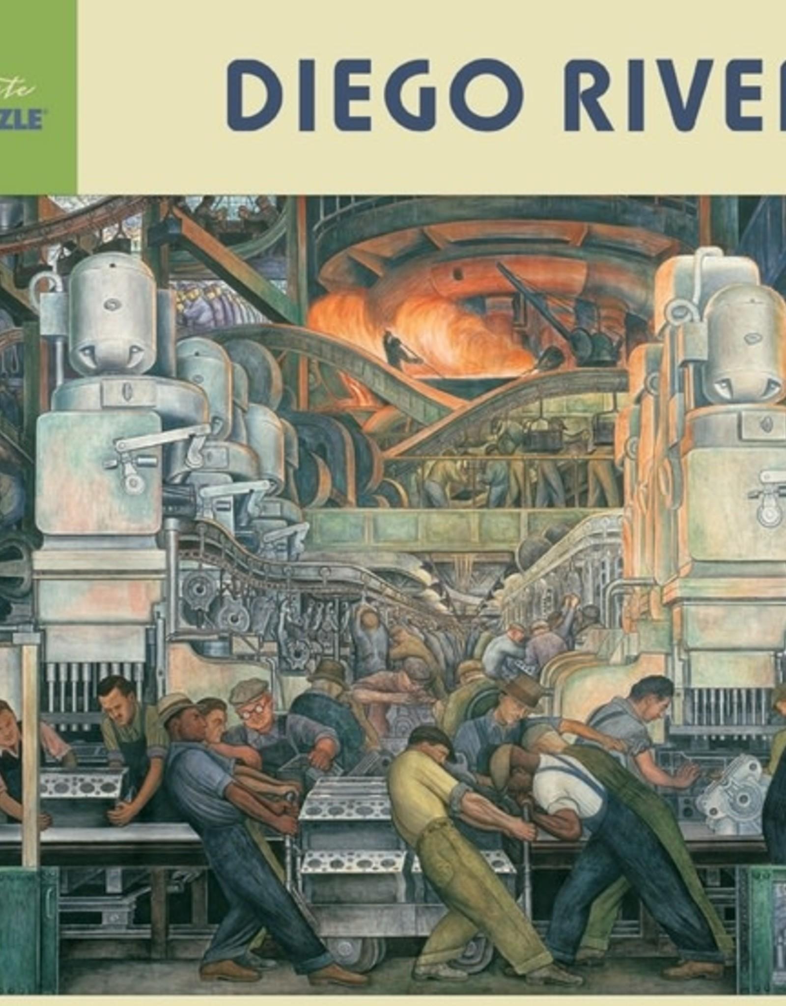 Pomegranate 1000 pc Diego Rivera: Detroit Industry Puzzle