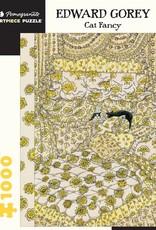 Pomegranate 1000 pc Edward Gorey: Cat Fancy Puzzle