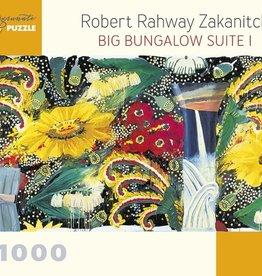 Pomegranate 1000 pc Robert Rahway Zakanitch: Big Bungalow Suite I Puzzle