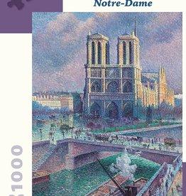 Pomegranate 1000 pc Maximilien Luce: Notre-Dame Puzzle