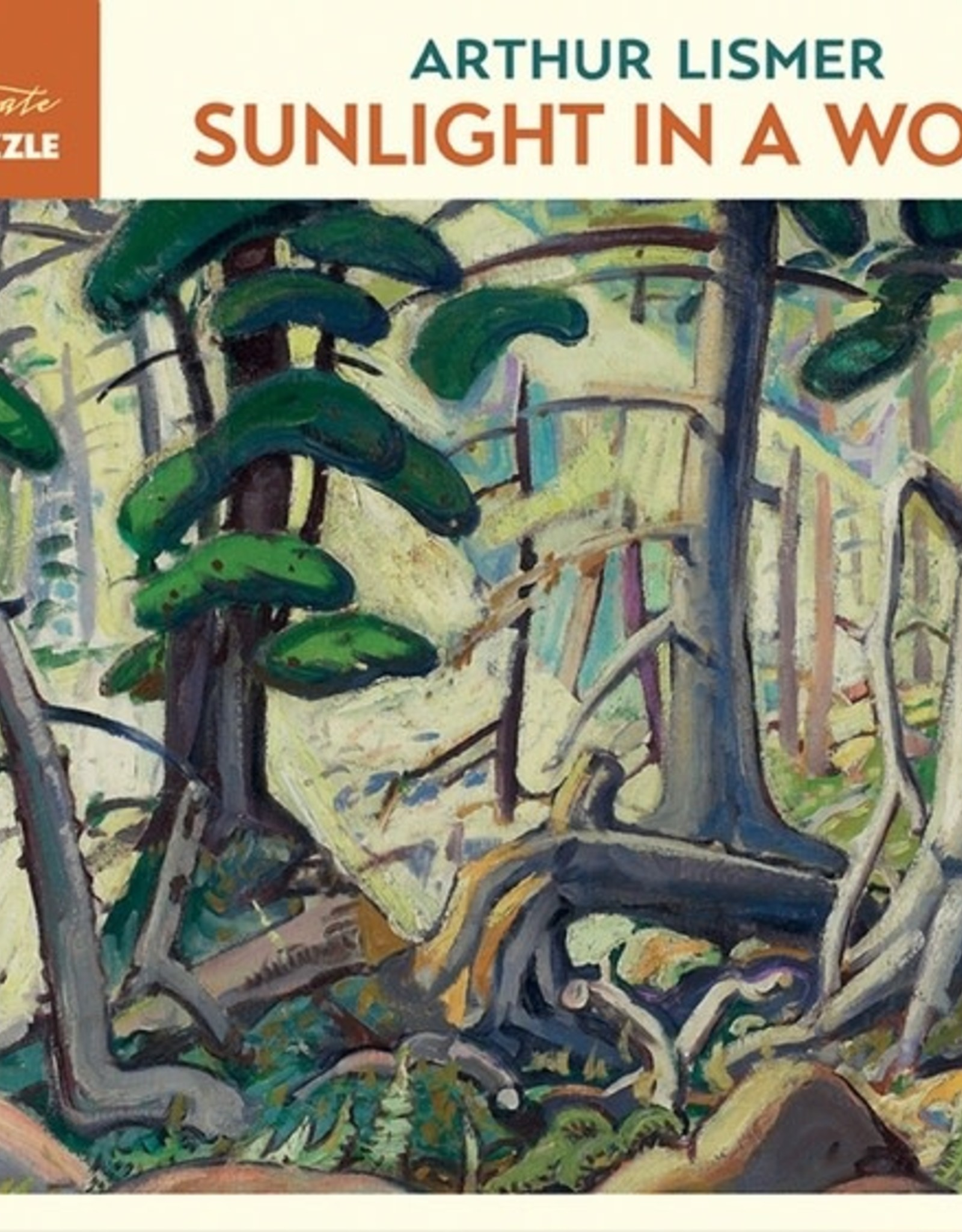 Pomegranate 1000 pc Arthur Lismer: Sunlight in a Wood Puzzle