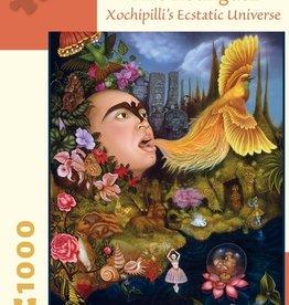 Pomegranate 1000 pc Tino Rodriguez: Xochipilli's Ecstatic Universe Puzzle