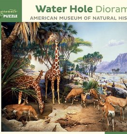 Pomegranate 1000 pc Water Hole Diorama Puzzle