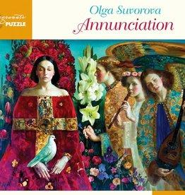 Pomegranate 1000 pc Olga Suvorova: Annunciation Puzzle