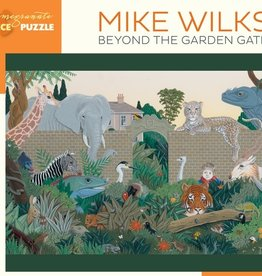 Pomegranate 300 pc Mike Wilks: Beyond the Garden Gate Puzzle