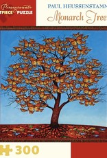 Pomegranate 300 pc Paul Heussenstamm: Monarch Tree Puzzle